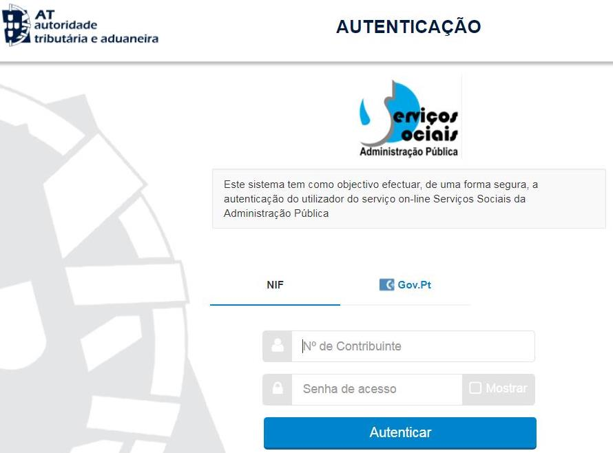 Portal Autenticação